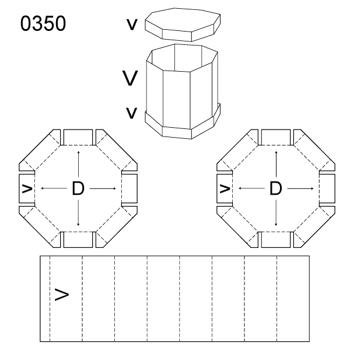 Obrázek Krabice s víkem 0350