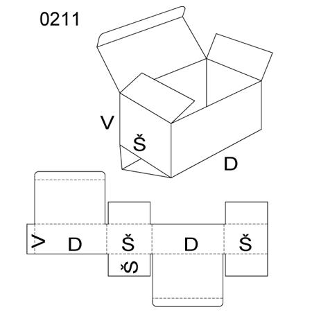 Obrázek z Klopová krabice 0211