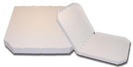 Obrázek z Pizza krabice, 50 cm, bílo bílá bez potisku