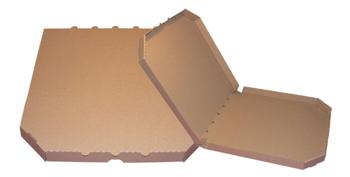 Obrázek Pizza krabice, 45 cm, hnědo hnědá bez potisku