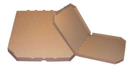 Obrázek z Pizza krabice, 45 cm, hnědo hnědá bez potisku