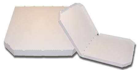 Obrázek z Pizza krabice, 30 cm, bílo bílá bez potisku