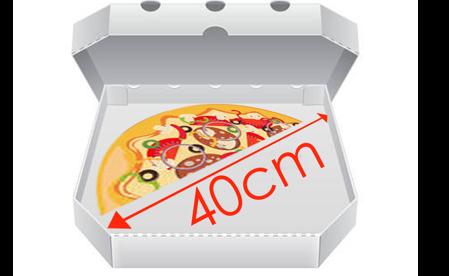Obrázek pro kategorii Krabice na pizzu 40 cm